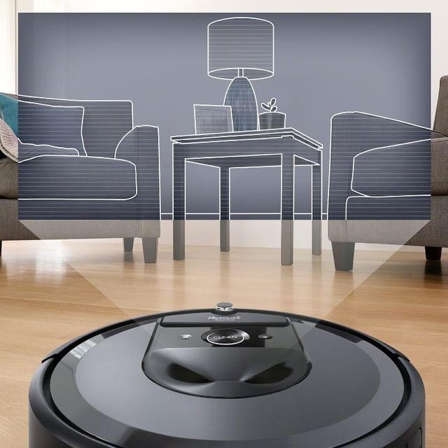 Η κορυφή της σύγχρονης ρομποτικής, η νέα #Roomba i7+. Μάθετε τι μπορεί να κάνει για εσάς και το σπίτι σας: ✔Αυτόματο άδειασμα του κάδου στη βάση Clean Base™ ✔Πλοήγηση iAdapt 3.0 με έξυπνη χαρτογράφηση Αποτυπώματος ✔Κορυφαίο σύστημα καθαρισμού 3 σταδίων AeroForce™ ✔iRobot HOME για κινητά και τα παραπάνω είναι μόνο η αρχή… ➡ link in bio Αν δεν είναι από την iRobot®, δεν είναι Roomba® #irobot #irobotgreece #irobotgr #roomba